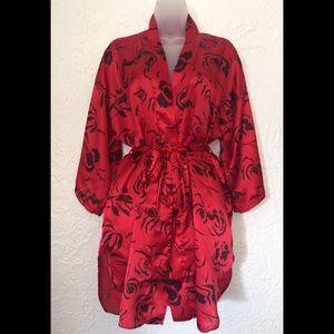 Vintage Amaretta kimono robe